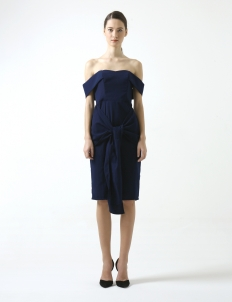 Navy Anja Dress