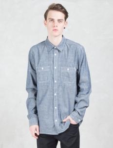 Rigid 4.5oz Clink L/S Chambray Shirt