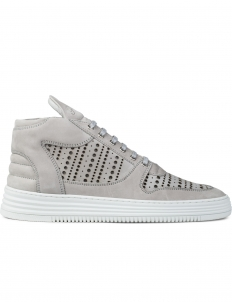 Perforated Mid Top Transformed Sneakers