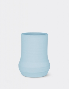 Baby Blue Doris Ceramic Vase