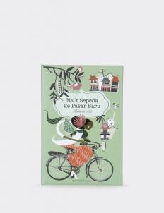 """Naik Sepeda Ke Pasar Baru"" Notes Book"