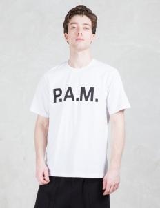 P.a.m Logo Handmaiden S/S T-shirt