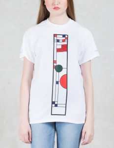 Frank Lloyd Wright Stained Glass T-Shirt