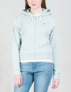 Hoodie Tricolor Fox Patch