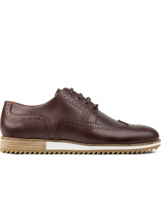 Leather Miraflores Wingtips Brouge Shoes