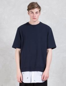 Layered S/S Sweatshirt