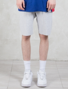 Contrast Waistband Sweat Shorts