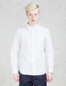 Two Tone Oxford L/S Shirt