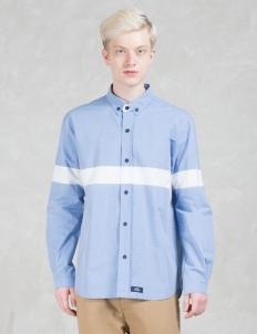 Contrast Color Block Shirt