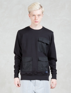 3 Flap Pocket Sweatshirt