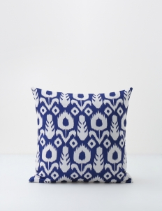 Navy Traditional Ikat