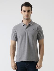 Gray Original Finch Basic Polo
