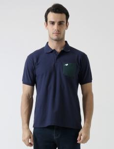 Navy Blue Murray Pocket Polo