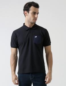 Black Murray Pocket Polo