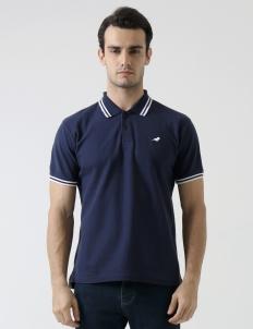 Navy Blue Preston Polo