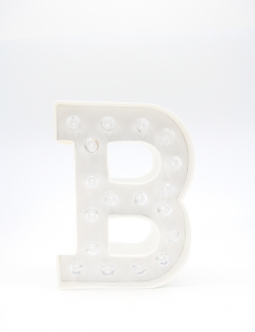 "Marquee Love Letters ""B"" Decoration Lamp"