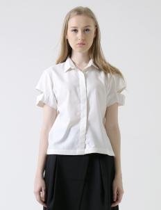 White Claire Top
