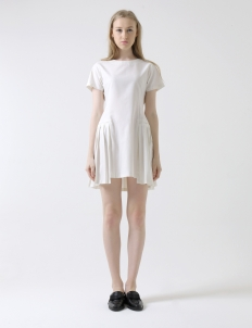 White Calissa Dress