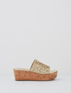 Gold Mavis Wedges
