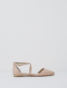 Nude Pink Sonia Flats