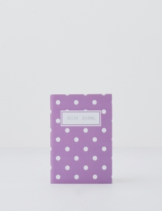 Lilac Dots Recipe Journal