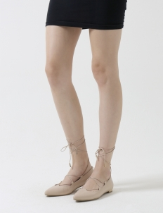 Nude Natalia Lace-Up