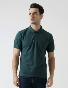 Dark Green Original Finch Basic Polo