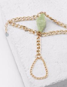 Pompeii Green Marble Bracelet