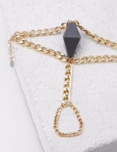 Pompeii Dark Grey Bracelet