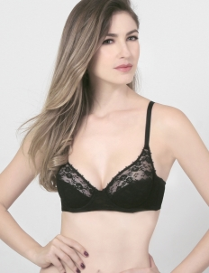 Black Charlise Fashion Bra