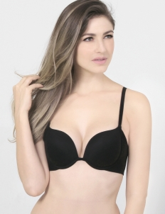 Black Keisha Basic Bra
