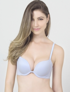 Blue Keisha Basic Bra