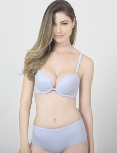 Blue Keisha High-Waist Panty