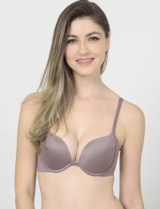 Brown Keisha Basic Bra