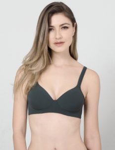 Green Karlita Basic Bra