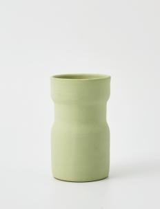 Green Gaia Ceramic Vase