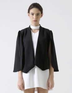 Black Cape Jacket