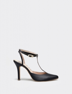 Black Freya Heels