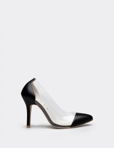 Black Carrine Heels