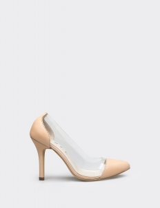 Nude Carrine Heels