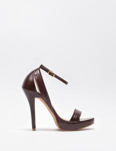 Maroon Meghan High Heels