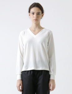 Off White Classic Long-sleeves Top