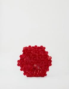 Balado Red Hex Clutch