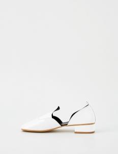 White Milan Heels