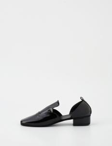 Black Milan Heels