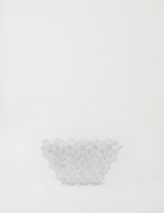 Transparent Machina Clutch Small