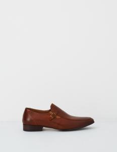 Brown Barclay Leather Shoes