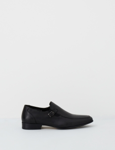 Black Barclay Leather Shoes