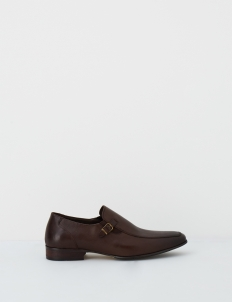 Coffee Barclay Leather Shoes