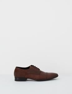 Brown Abbott Derby Shoes